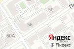 Схема проезда до компании Легно в Барнауле