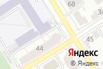 Схема проезда до компании Гранит, ТСЖ в Барнауле
