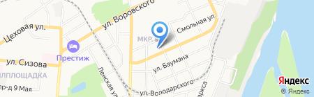 Барнаульское общество йоги на карте Барнаула