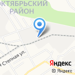 Айлант-мебель плюс на карте Барнаула