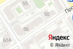 Схема проезда до компании ГрантАвто в Барнауле