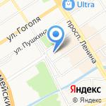 КБ Алтайкапиталбанк на карте Барнаула