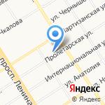 Строй-Трек на карте Барнаула