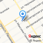 АРХИДЕС на карте Барнаула