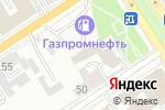 Схема проезда до компании ДорЗнак в Барнауле