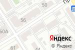 Схема проезда до компании Рубеж в Барнауле
