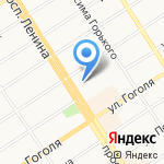 Киоск по продаже мяса кур на карте Барнаула