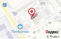 Схема проезда до компании ФАКЕЛ в Барнауле