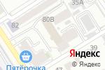 Схема проезда до компании Бамбуковая мечта в Барнауле