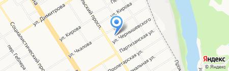 Зерно Алтая на карте Барнаула