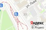Схема проезда до компании Центр связи в Барнауле