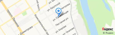Soft-logic на карте Барнаула