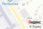 Схема проезда до компании Открытая сменная общеобразовательная школа №6 в Барнауле