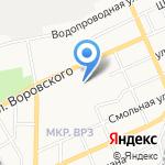 Архивный отдел Администрации г. Барнаула на карте Барнаула