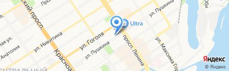 Мёд на карте Барнаула