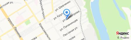 Мастерская по ремонту топливных систем бензиновых двигателей на карте Барнаула