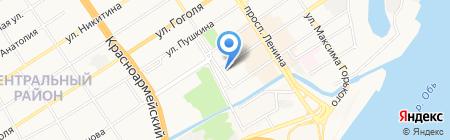 Магазин штор на карте Барнаула