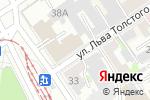 Схема проезда до компании Мир обоев в Барнауле