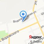 Алтайский государственный колледж на карте Барнаула
