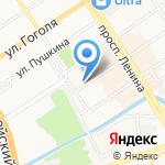 Люстры-22 на карте Барнаула