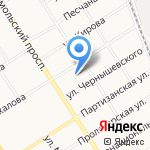 Управление пенсионного фонда в г. Барнауле на карте Барнаула