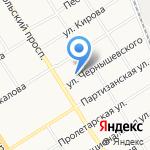 Центр оценки качества зерна на карте Барнаула