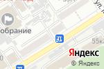 Схема проезда до компании Авеню в Барнауле