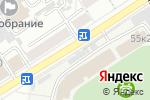 Схема проезда до компании Диадема в Барнауле