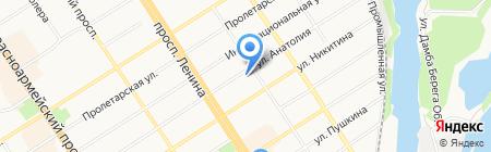 ДиалогСибирь-Барнаул на карте Барнаула