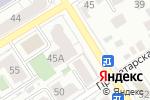 Схема проезда до компании РегионЭкспертиза в Барнауле