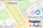 Схема проезда до компании Фурор в Барнауле
