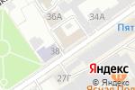 Схема проезда до компании Управление Алтайского края по печати и информации в Барнауле