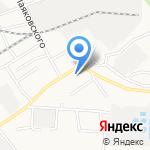 Социальная на карте Барнаула