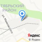 Автоворота на карте Барнаула