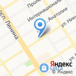 Локкард на карте Барнаула