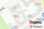 Схема проезда до компании Контраст в Барнауле