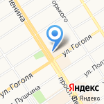Brandroom на карте Барнаула