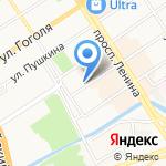 Мега-Маркет на карте Барнаула