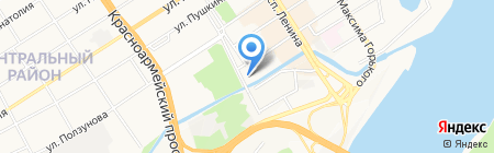 Алмазный инструмент на карте Барнаула