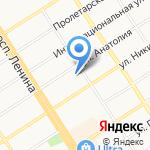 А-Строй на карте Барнаула
