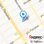 Киоск по продаже семян на карте Барнаула