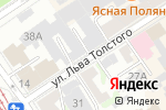 Схема проезда до компании ГраФ в Барнауле