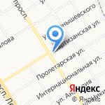 САВ-АВТО на карте Барнаула