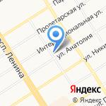 Гастрономия на карте Барнаула