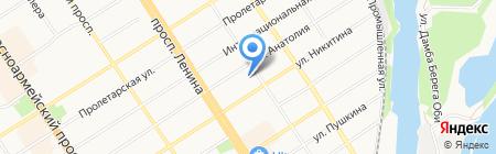 Центр мужского здоровья на карте Барнаула