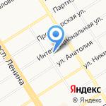 Домстрой-Барнаул на карте Барнаула