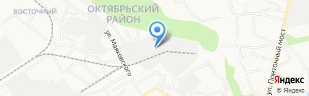 АЗДА на карте Барнаула