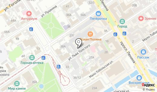 ВиК Greid. Схема проезда в Барнауле