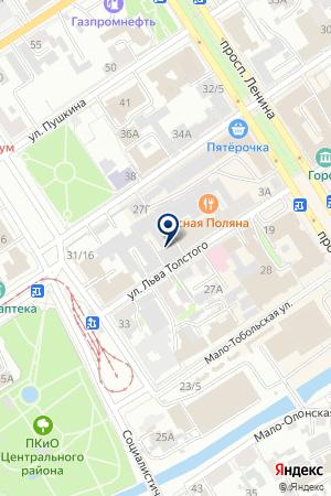 Лайм на карте Барнаула