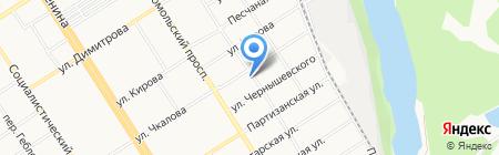 777 на карте Барнаула